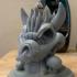 Bowser Skull Incense Holder Statue image