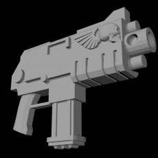 Shock Rifle variants (28mm 40k)
