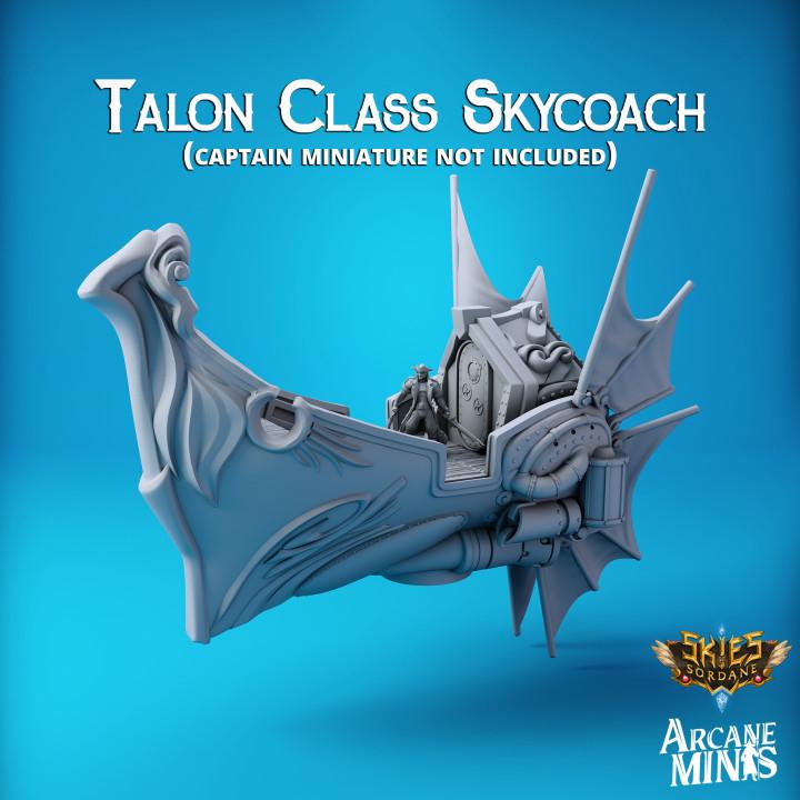 Airship - Talon Class Skycoach's Cover