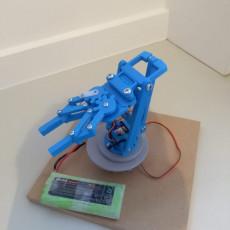 RC Servo Robot Arm