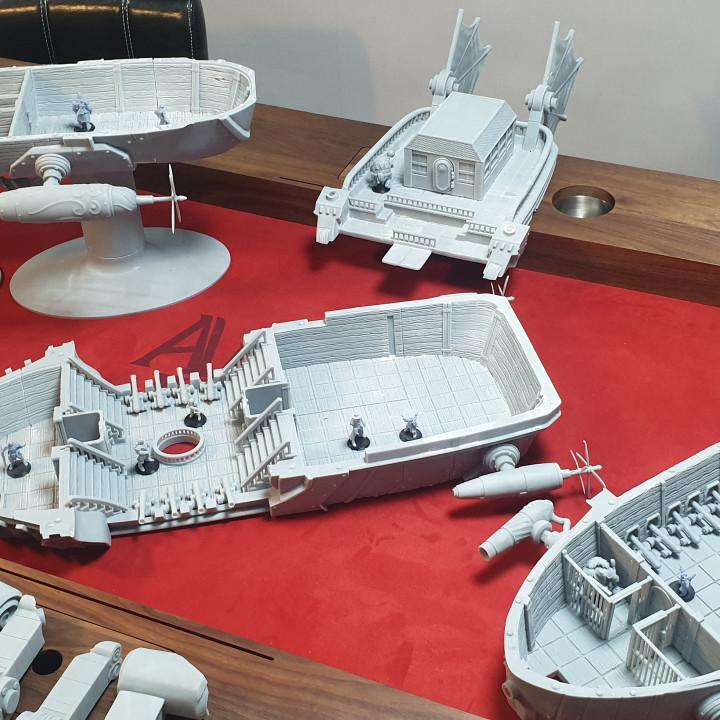 Airship - Sintel Class Light Cruiser