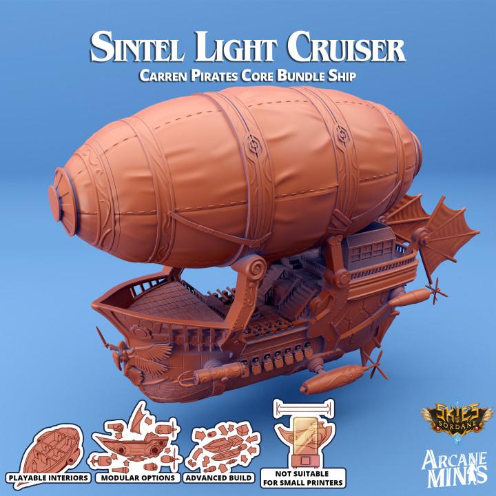 Airship - Sintel Class Light Cruiser's Cover
