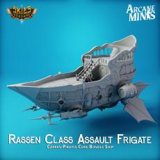 Airship - Rassen Class Assault Frigate