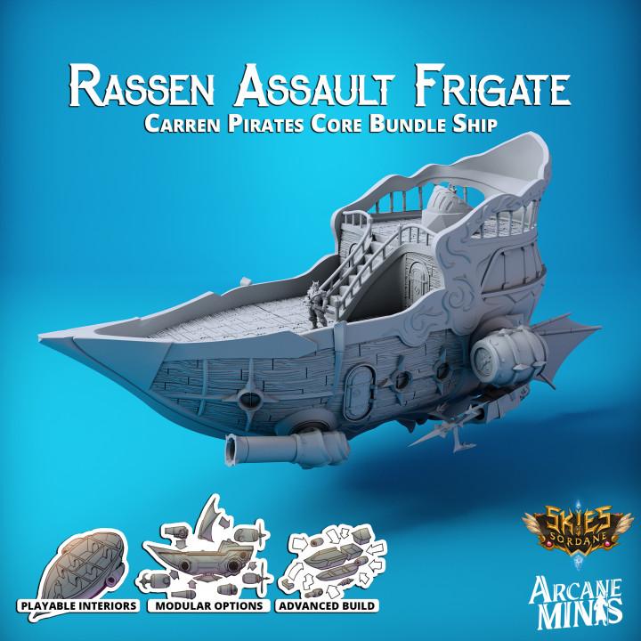 Airship - Rassen Class Assault Frigate's Cover