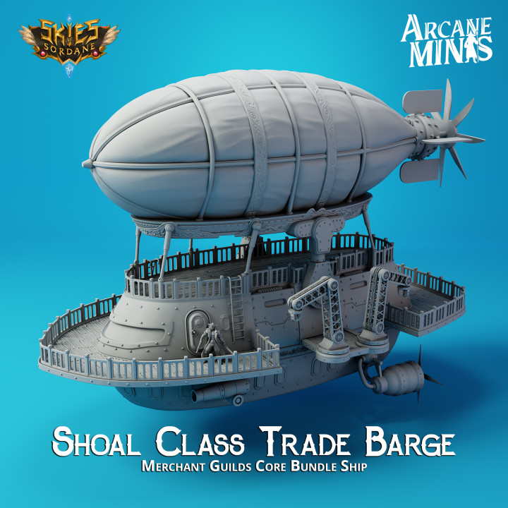 Airship - Shoal Class Trade Barge