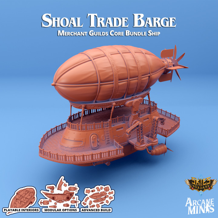 Airship - Shoal Class Trade Barge's Cover