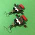 Kawaii Xmas Tree Earrings (Happy Hugs) image