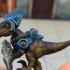 Raygun Raptors Kickstarter Free Sample print image