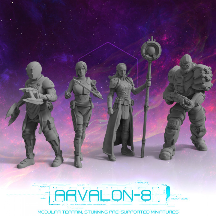 Arvalon-8 Crew 7 and the Halo (Under Development)'s Cover