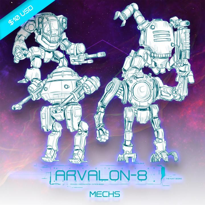 Arvalon-8 Crew 9 The Junkyard Defenders (Under Development)'s Cover
