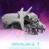 Arvalon-8 Cyphrons' Crew and the Charon Dropship image