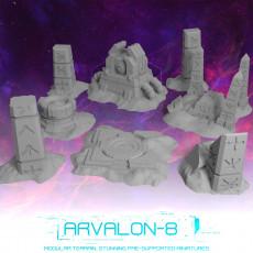 Arvalon-8 Ancient Alien Ruins