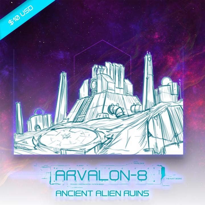 Arvalon-8 Ancient Alien Ruins (Under Developement)'s Cover