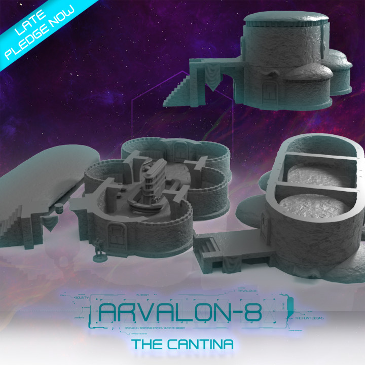 Arvalon-8 The Cantina's Cover