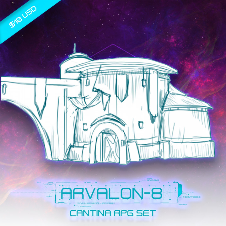 Arvalon-8 The Cantina (Under Development)'s Cover