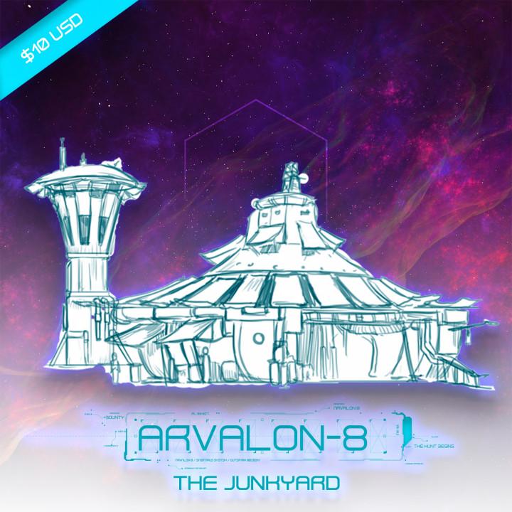 Arvalon-8 The Junkyard (Under Development)'s Cover