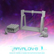 Arvalon-8 Mech Bay