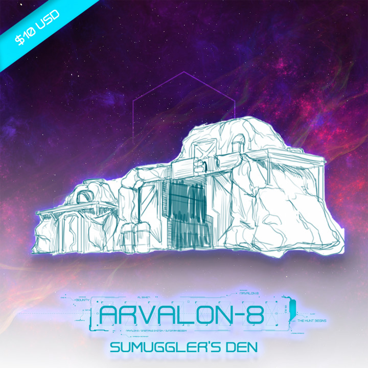 Arvalon-8 Smugglers' Dens (Under Development)'s Cover
