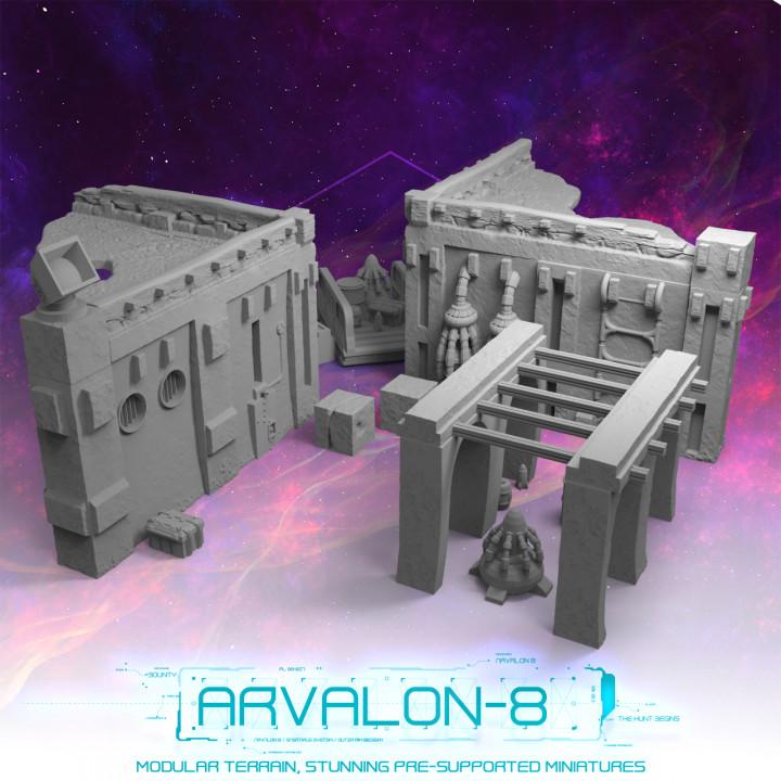 Arvalon-8 Modular City