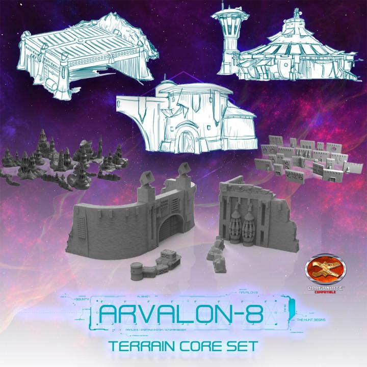Arvalon-8 Terrain Core Set's Cover