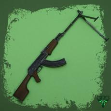 RPK light Machinegun - scale 1/4