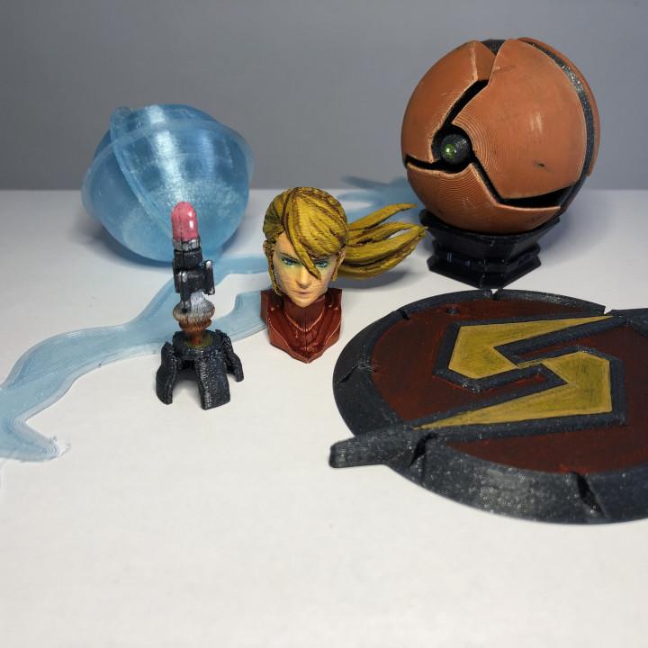 Metroid Extras for Samus