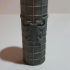 A set of clean tile texture rolling pins. image