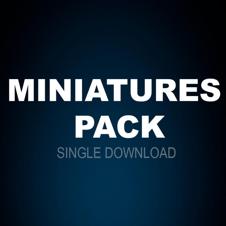 Miniatures Pack (Miniatures core set) - single download's Cover
