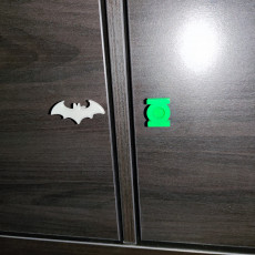 Justice League Door Knobs