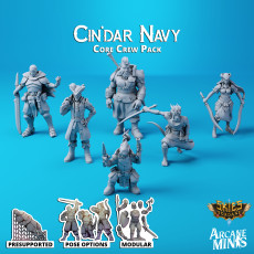 Cin'dar Navy - Core Crew
