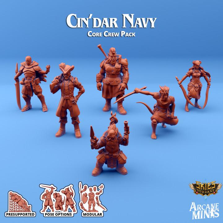 Cin'dar Navy - Core Crew