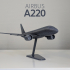Airbus A220-100 - Modern Jet Airplane - 1:144 image