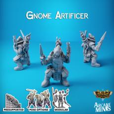 Gnome Artificer - Cin'dar Navy
