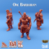 Orc Barbarian - Cin'dar Navy image