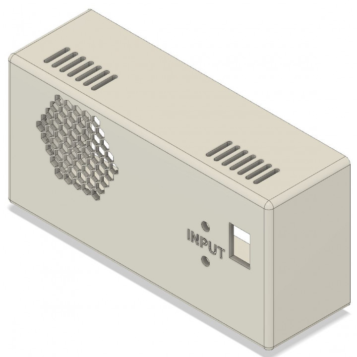 Case for RIDEN RD6006 / RD6012 Power Supply