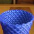 Weaved basket vase image