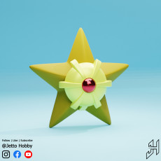 Staryu (1/10 Scale Pokemon)