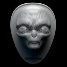 Roswell Alien Trophy