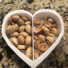 Heart Themed nut bowl