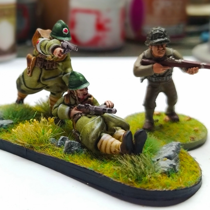 FREE TEST - French medic - 28mm WWII Wargame
