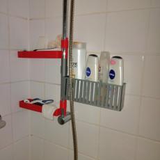 Seifenhalter-Flaschenhalter-Dusche - Soaptray and Showergeltray shower