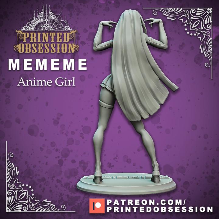 MEMEME - Anime Girl - 25cm model