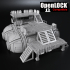 Openlock modular system for science fiction skirmishes image