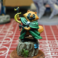 Picture of print of Terrabella, Tanukin Druid (Pre-Supported)