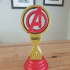 Avengers Headphone stand or trophy image