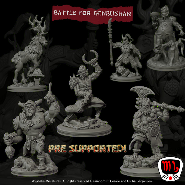 Battle for Genbushan Characters ONLY UPDATED's Cover