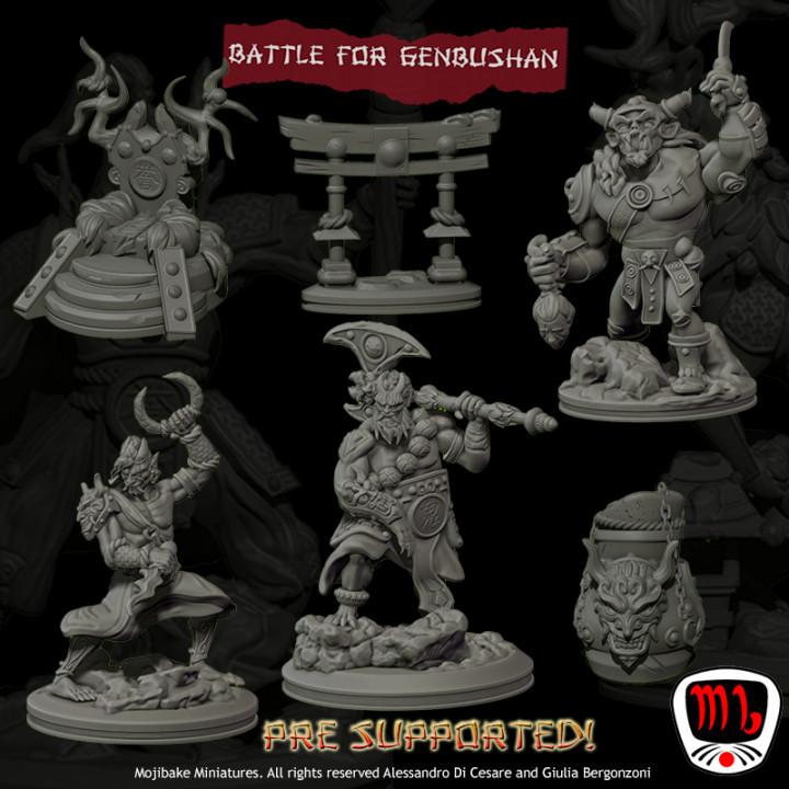 Battle for Genbushan Complete Set UPDATED's Cover
