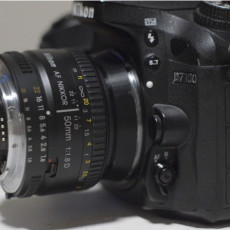 52mm Thread Reverse to Nikon F Mount for Macro Photography
