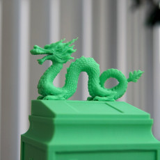Picture of print of Dragon seal(Creality Cloud exclusive)