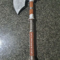 Picture of print of Assassins Creed Valhalla Eivor Axe 02